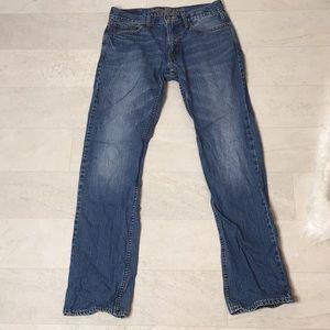 American Eagle Men's Jeans Sz 30x34 Straight Leg